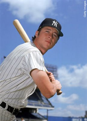 Bobby Murcer, the always lovable Yankee.